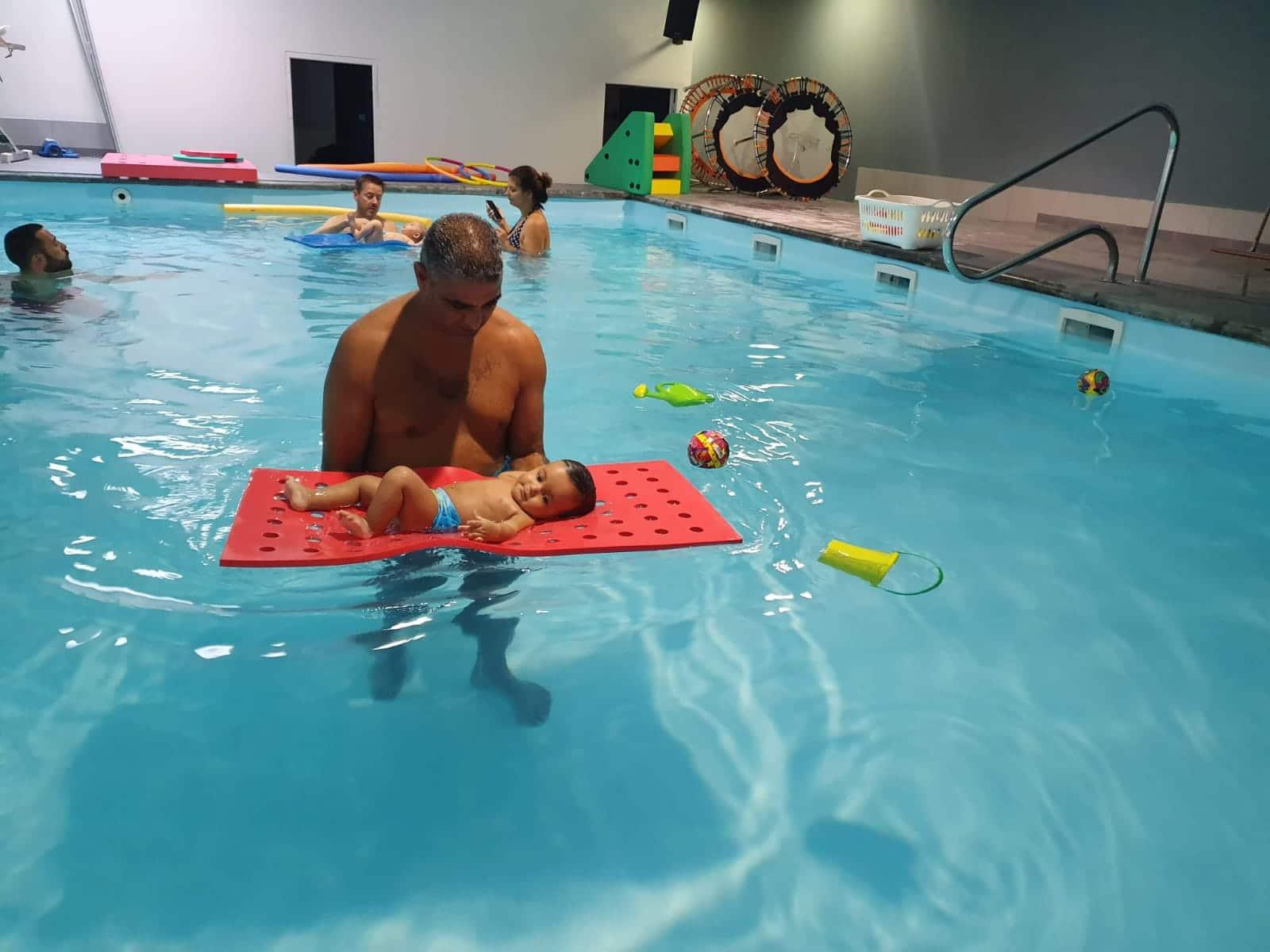 Bébé nageur à Avignon